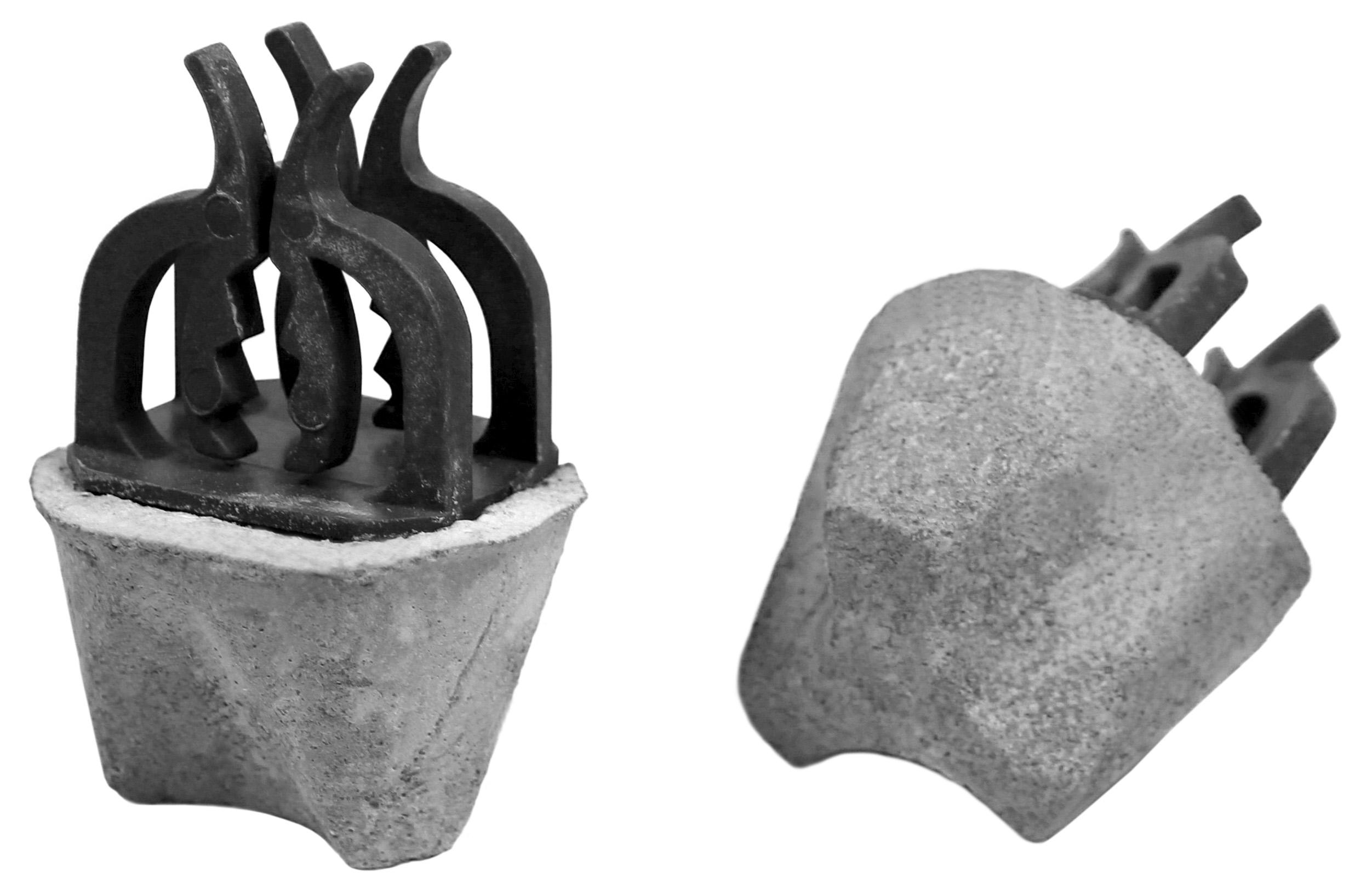 Cast Concrete Spacers : Cpc tri pointed base precast construction technology